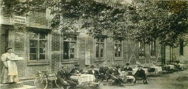 Schweizerhaus um 1914