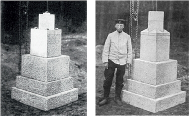 NHP von 1912 vor dem Einbau