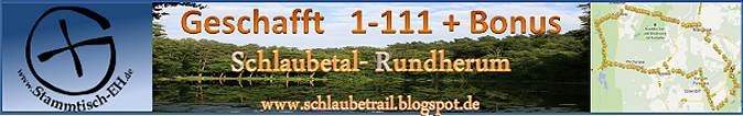 Schlaubetal-Banner am 06.04.14