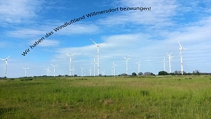 Bernauer Power: Windpark Willmersdorf am 07.11.2015